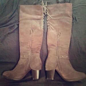 Kisses too lunar knee high boots 7.5 Euc